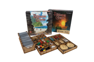 e-Raptor Insert Robinson Crusoe 2ed + Mystery Tales Expansion