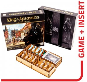 gra planszowa King and Assassins Deluxe + Insert