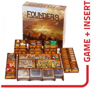 gra Founders of Gloomhaven +  Insert